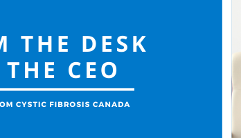 from the desk of the CEO
